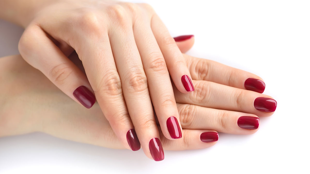 manicure-hybryda